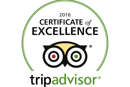 The Lime Kiln is awarded Tripadvisor Certificate of Excellence