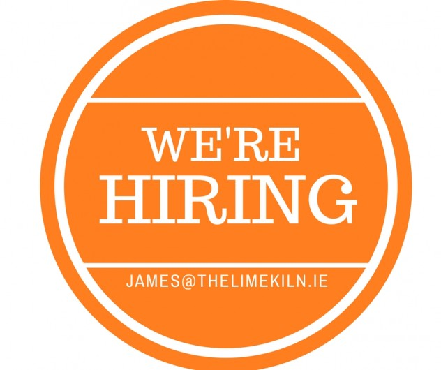 Restaurant Host/Hostess required - The Lime Kiln