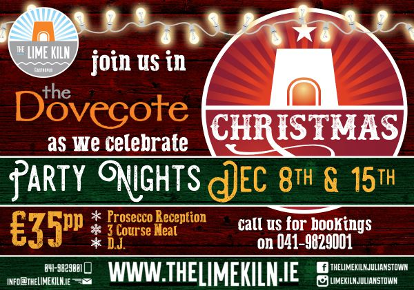Celebrate your Christmas party at The Dovecote