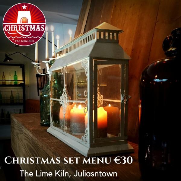 Celebrate Christmas at The Lime Kiln, €30 set menu