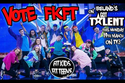 Fit Kids Fit Teens through to the finals of Ireland's Got Talent