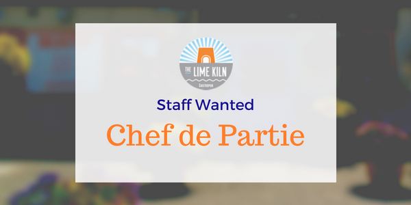 Experienced Chef de Parties required for The Lime Kiln Gastropub