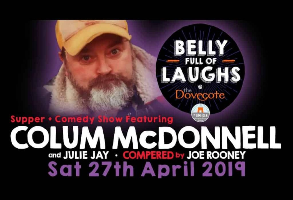 Belly Full of Laughs dinner + comedy show at The Lime Kiln Gastropub