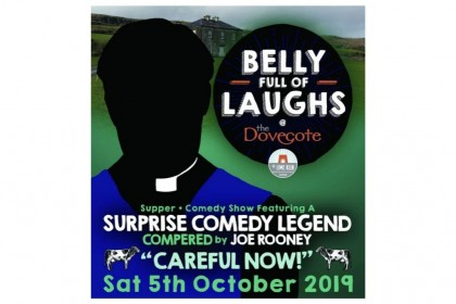 Belly Full of Laughs Comedy show at The Lime Kiln Gastropub