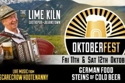 Celebrate Oktoberfest at The Lime Kiln Gastropub 11 & 12 Oct