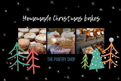 Order your homemade breads, puddings and mince pies this Christmas from The Pantry shop