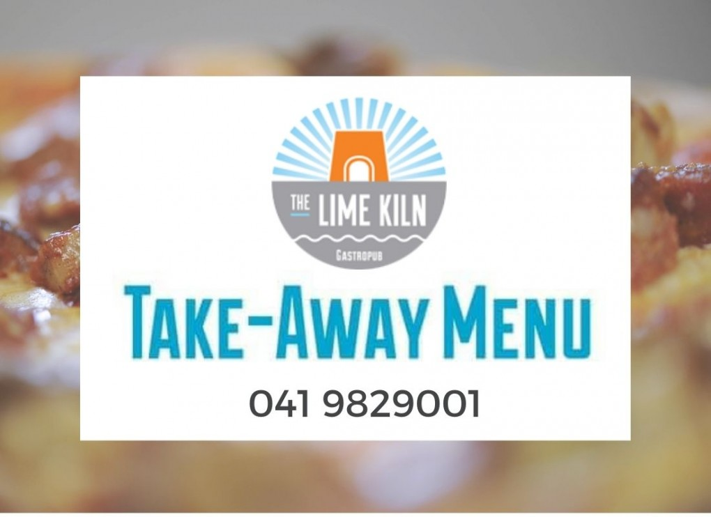 Enjoy your favourite Lime Kiln dishes at home with our takeaway menu