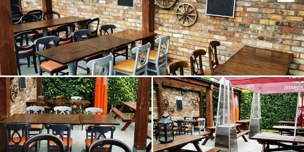 Check out our cosy beer garden and outdoor dining area at The Lime Kiln Gastorpub