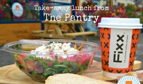 Try a delicious homemade salad or sandwich from The Pantry perfect for lunch on the go