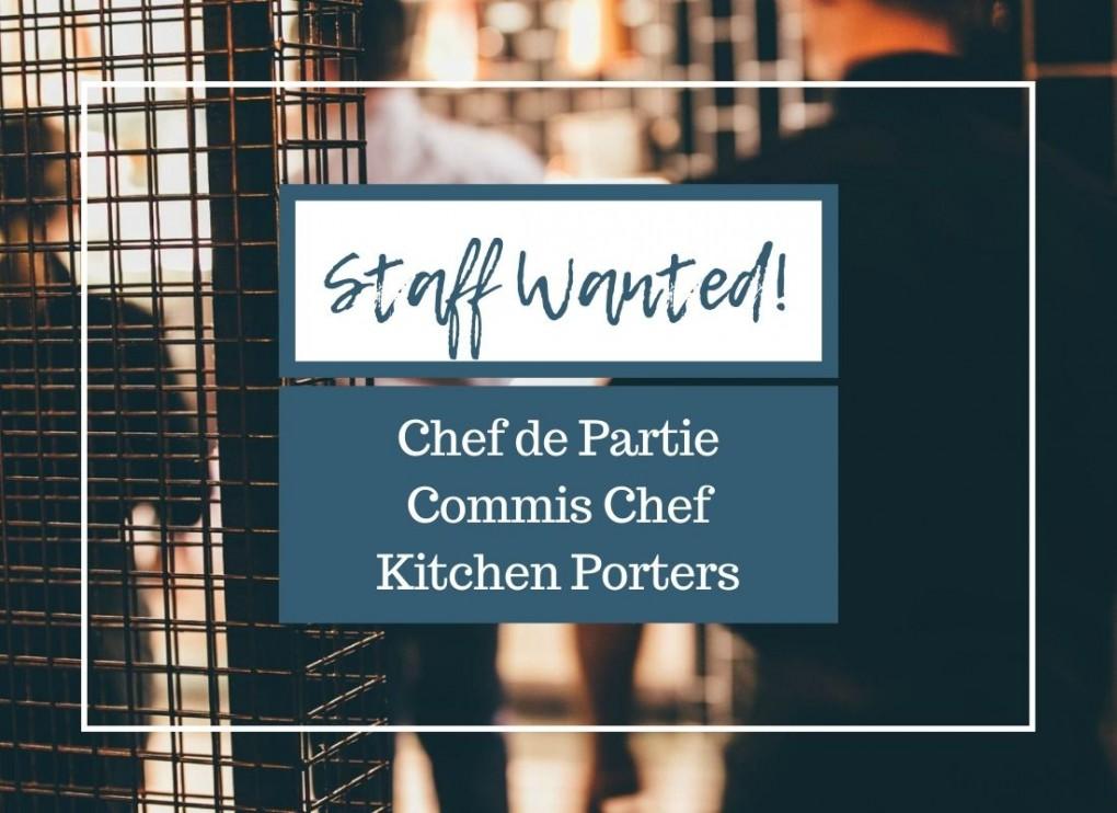 Kitchen staff Chef de Partie Commis Chef Kitchen Porters wanted at The Lime Kiln Gastropub